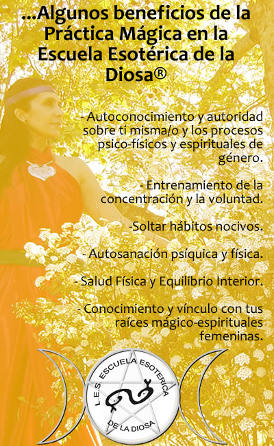 beneficios, ser bruja, entrenamiento, magia, ritual, argentina, escuela, sacerdotisa de la diosa
